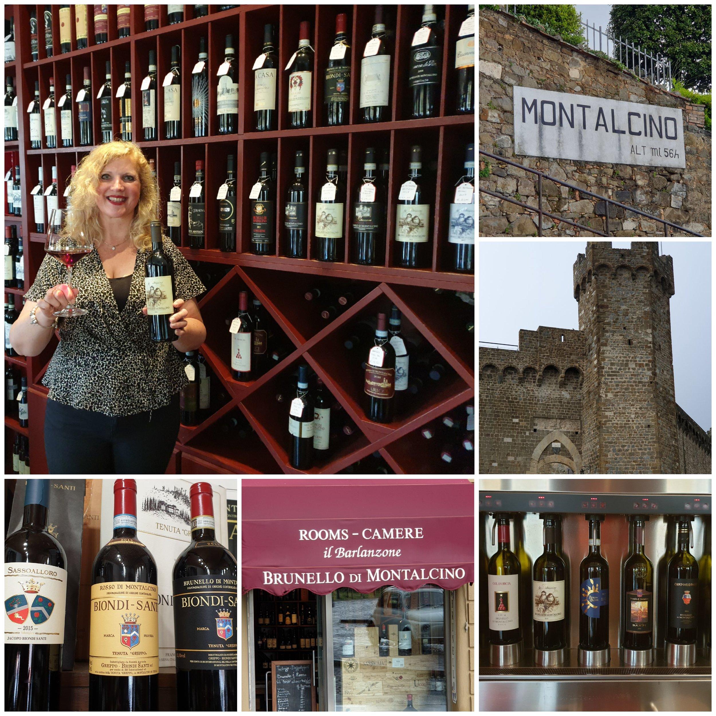 MontalcinoWijnhuis Val di SugaBrunello wijn -