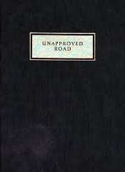 Unapproved Road