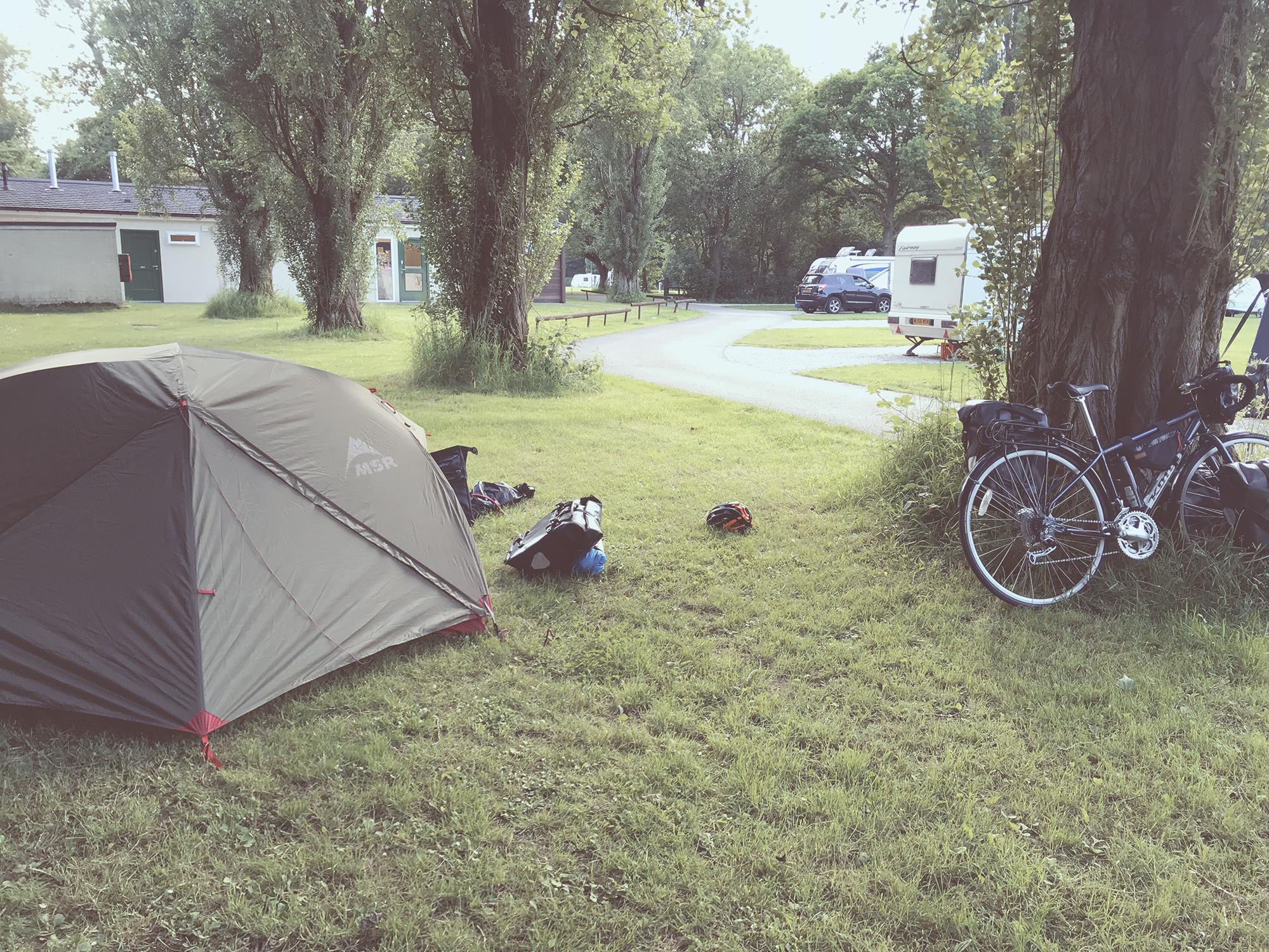 Campsite in Essex