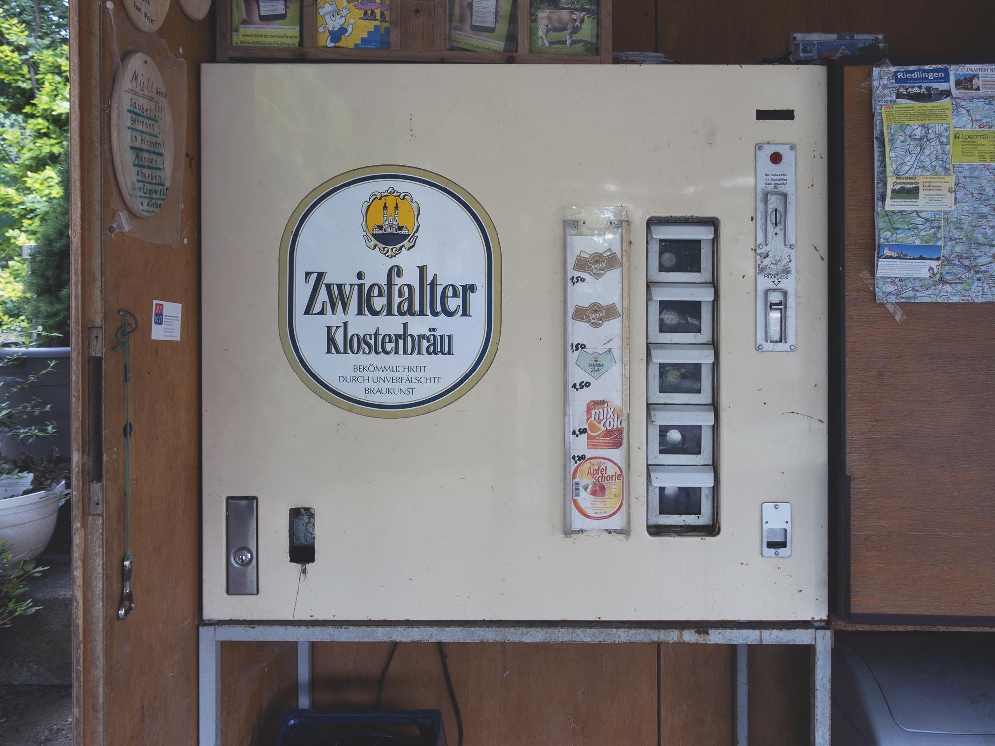 A beer vending machine!