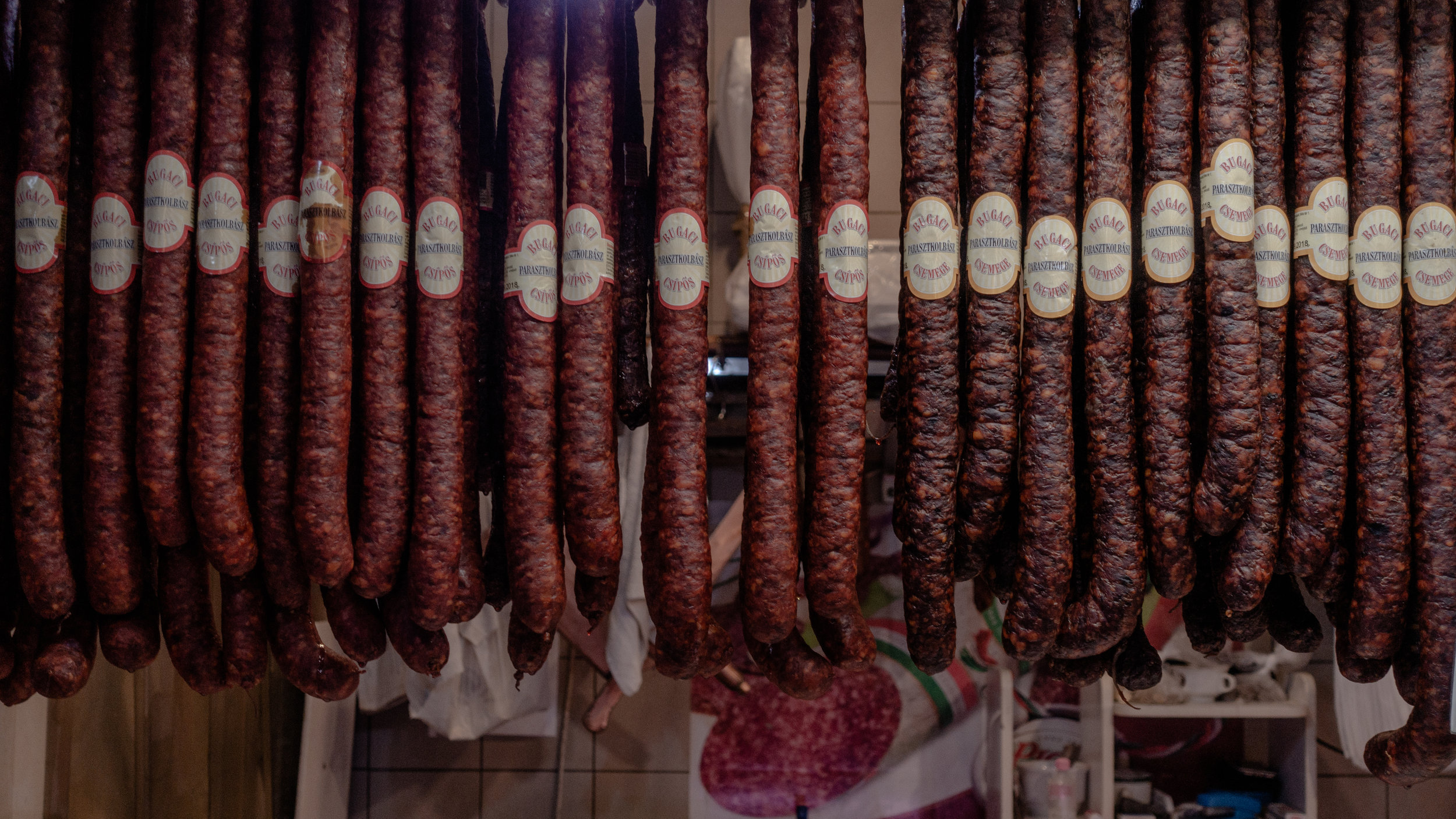 Meat market, Budapest