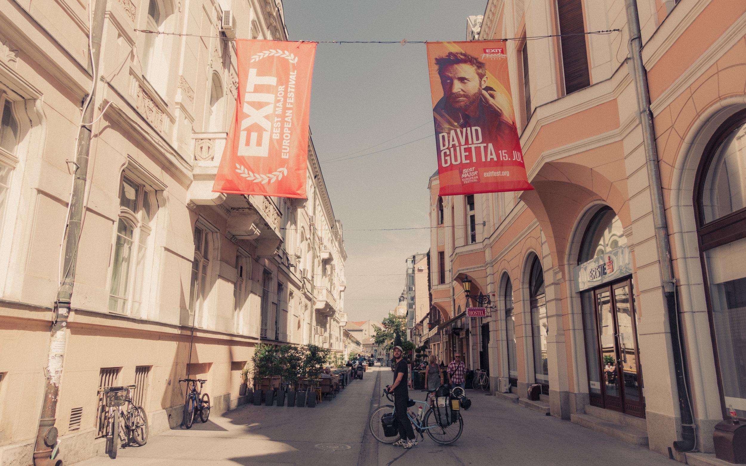 EXIT festival, Novi Sad