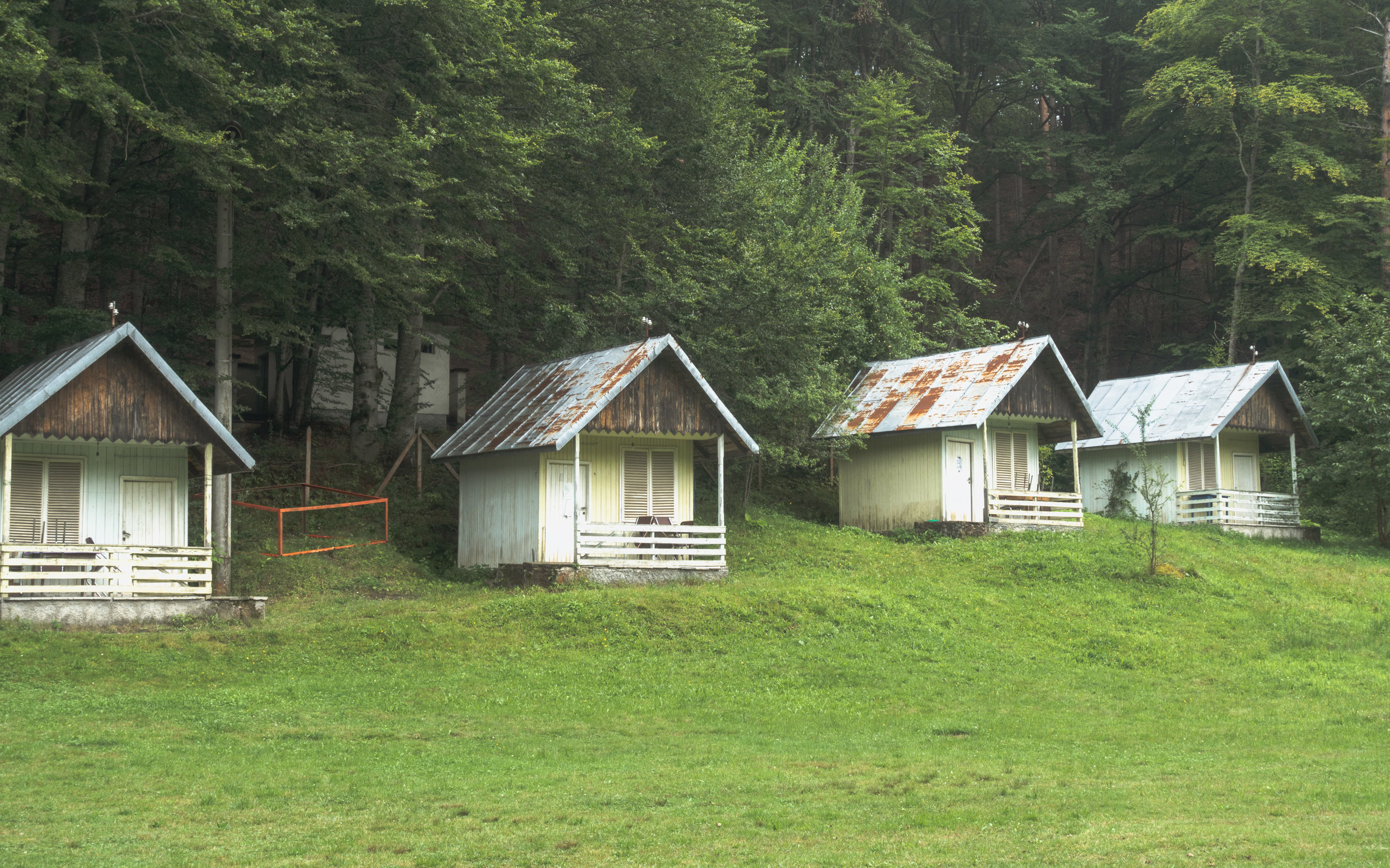 A former Communist campsite