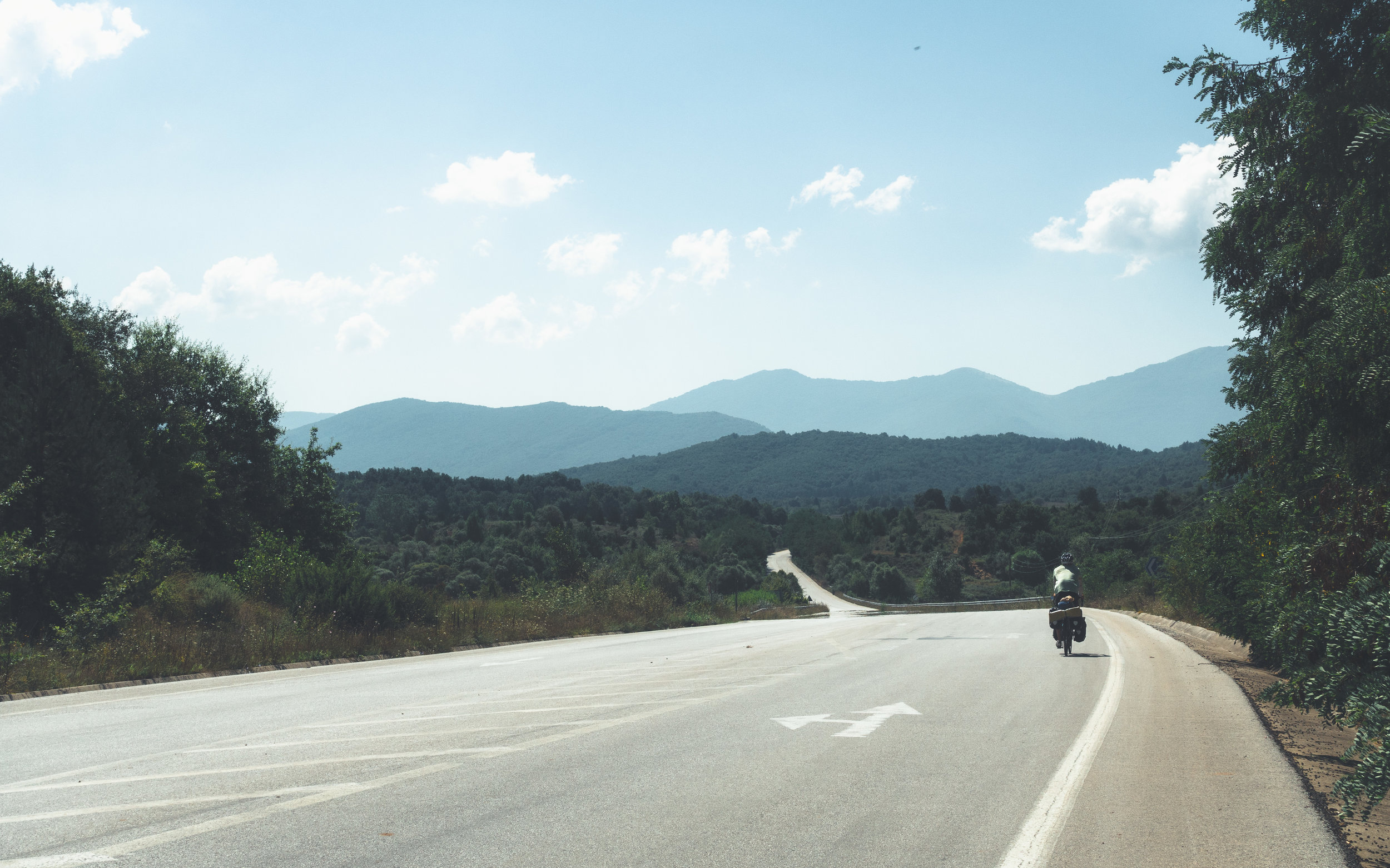 Crossing over into Greece!