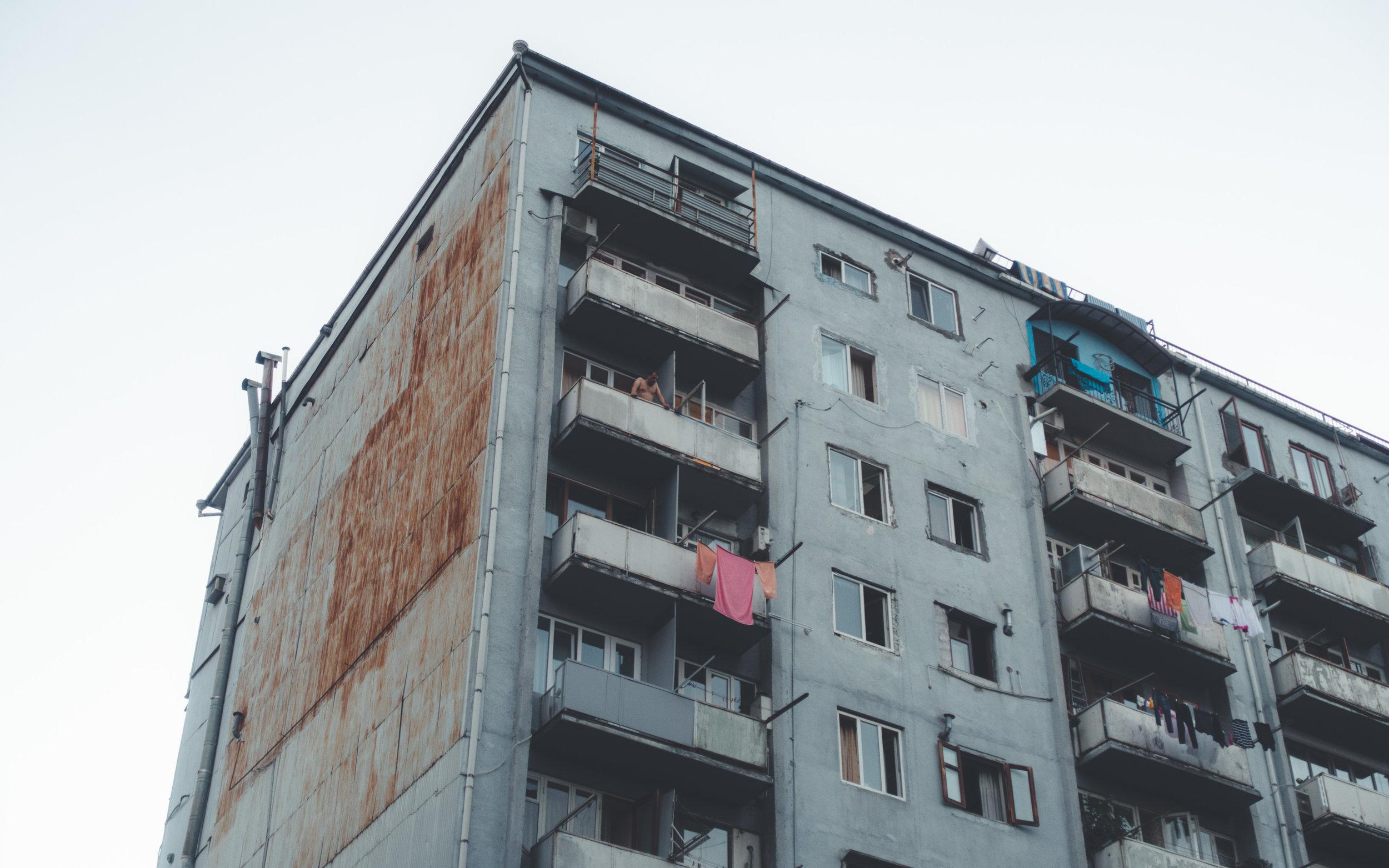 Typical high-rise, Batumi