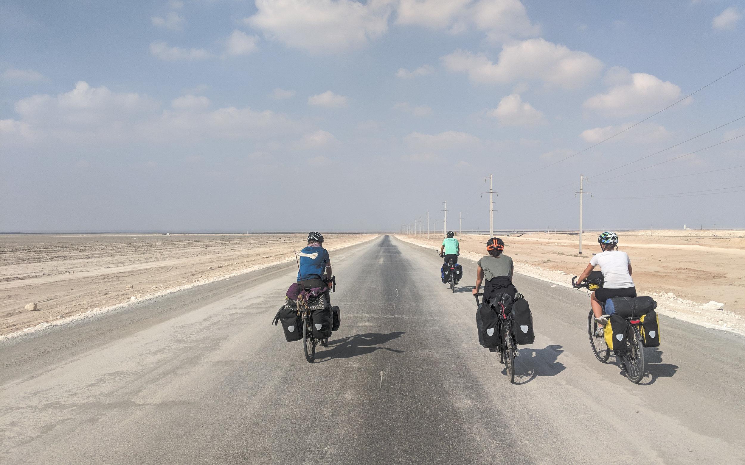 Riding off into the steppe, Kazakstan!