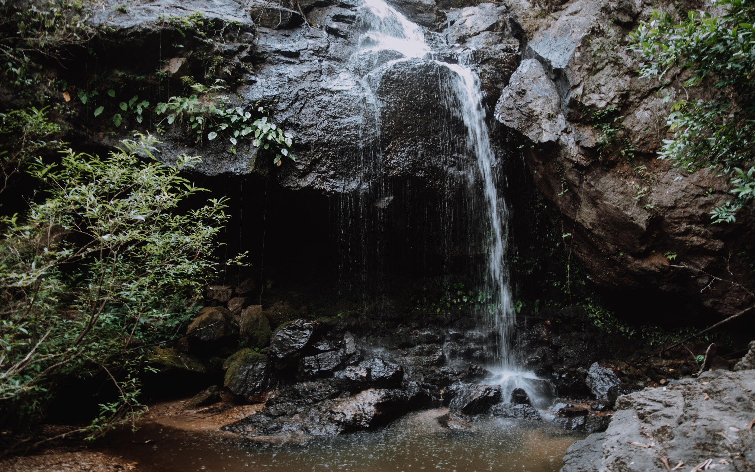 Waterfall at Khun Phawo National Park