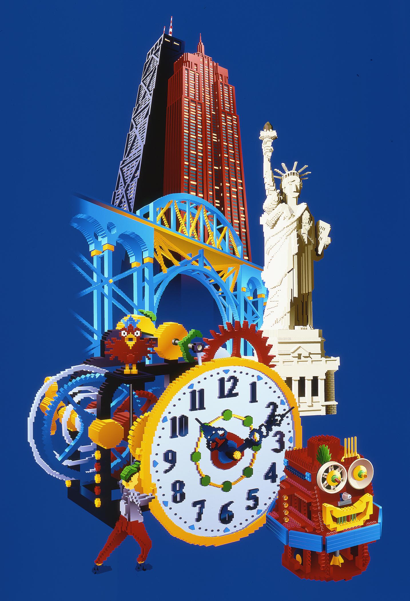 Lego Children's Museum Tour Poster