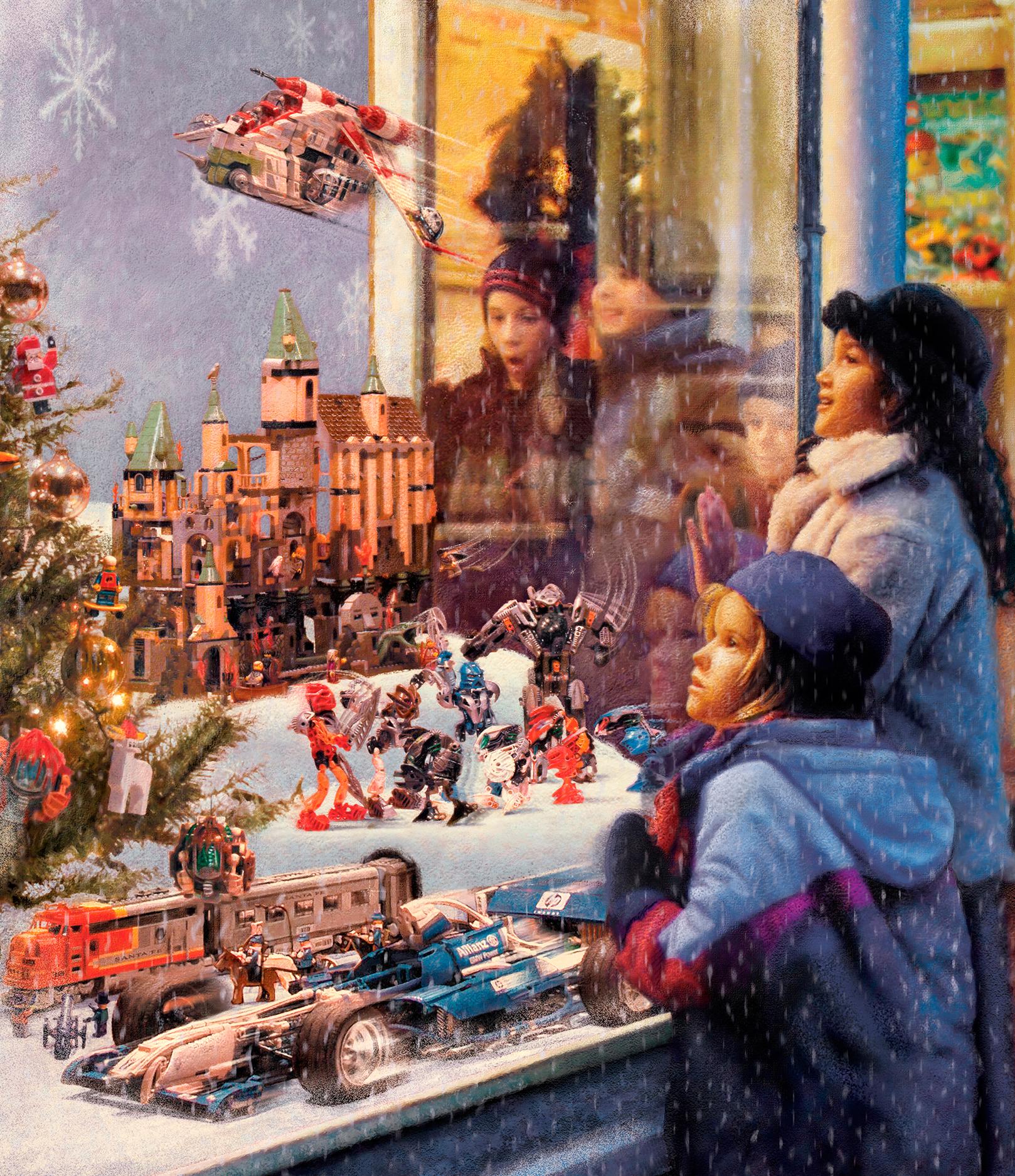 Lego Christmas Catalog