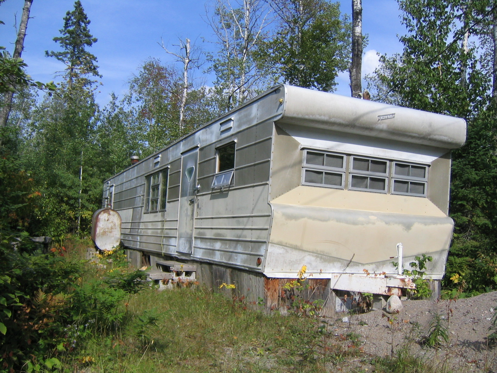 Norm's Old Trailer &the Future Site of The Aerie Dance & Performing Arts Studio