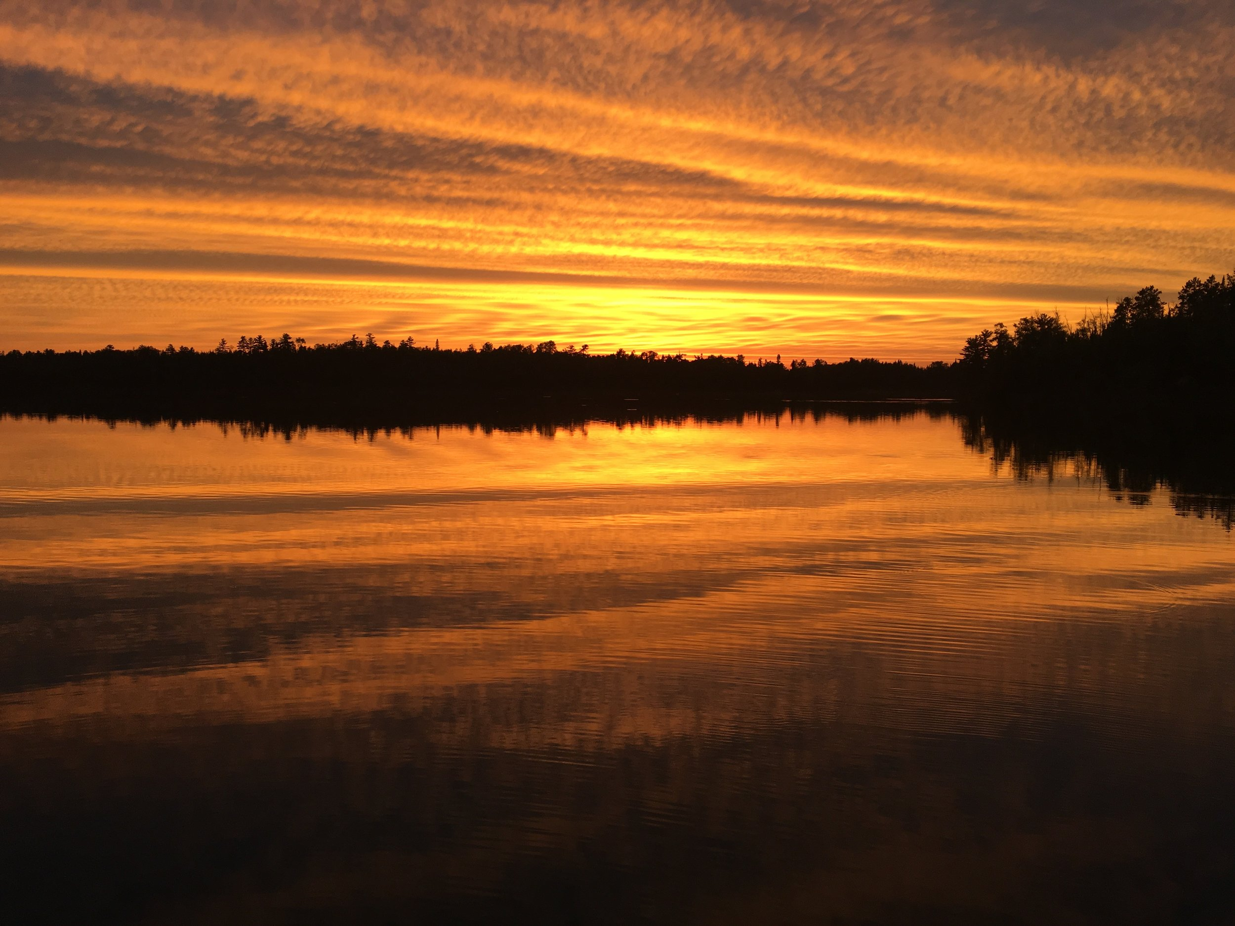 One of Gary's many pictures of Tofte Lake