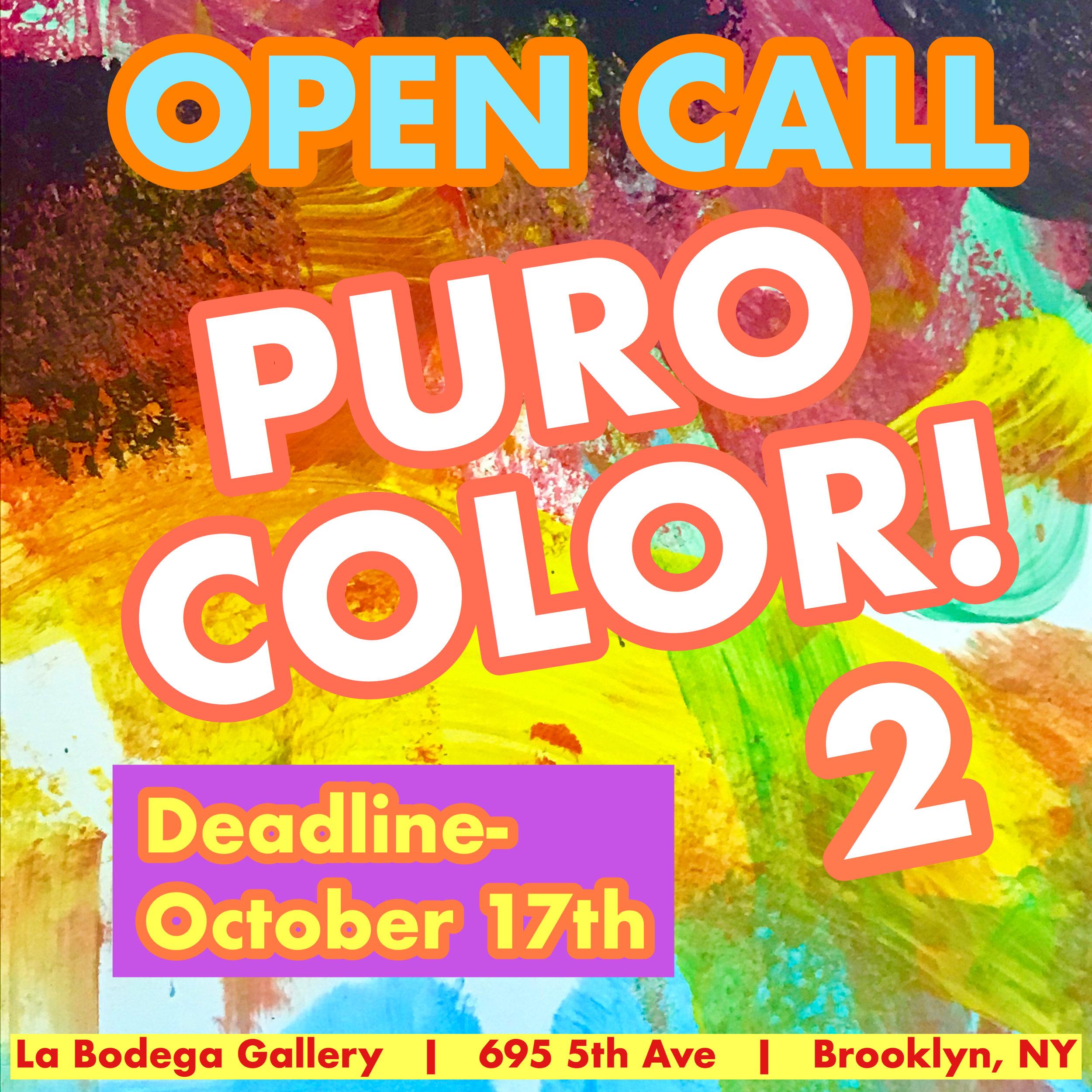 OPEN CALL: -