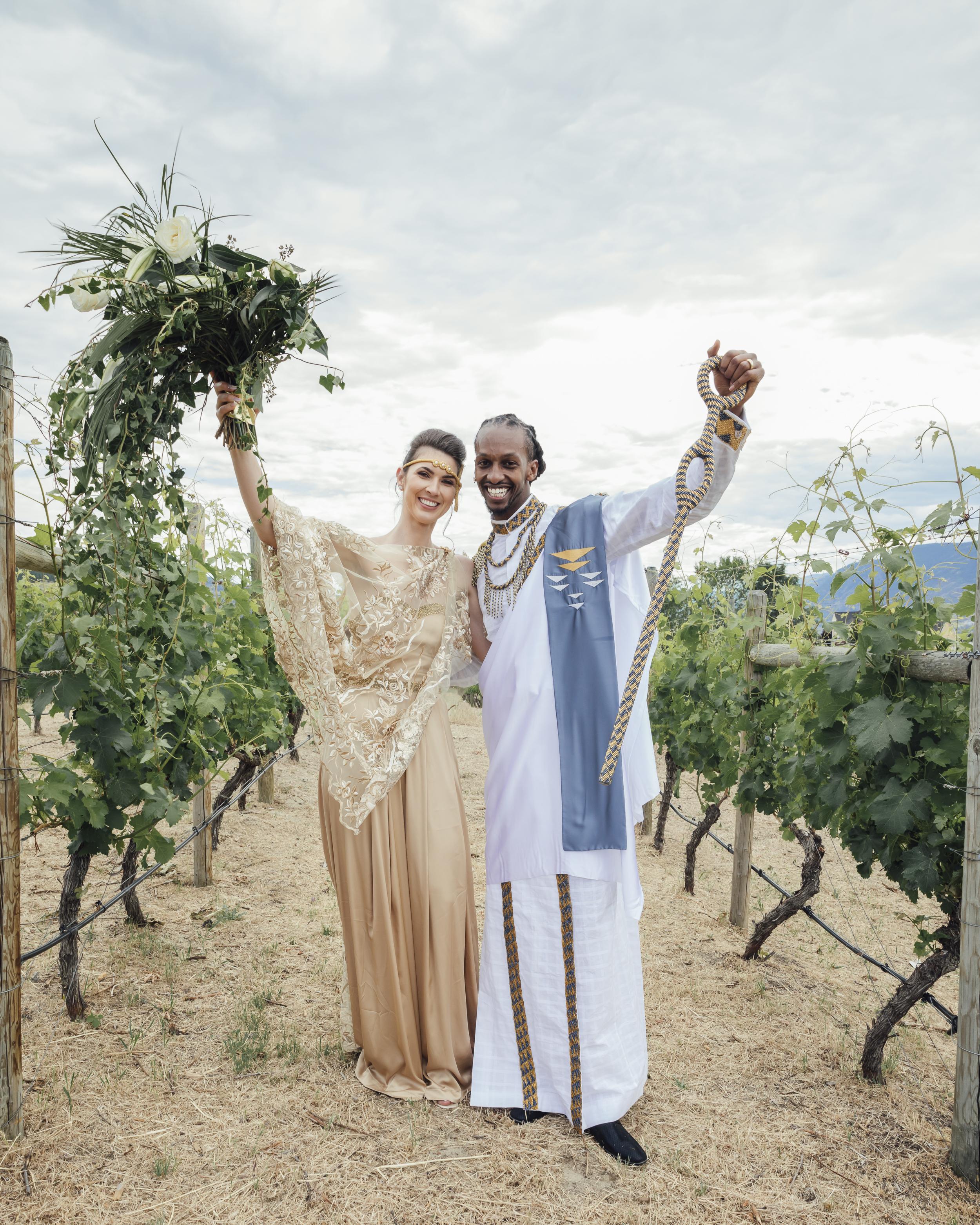 Three Sisters Winery - Penticton, BC Wedding