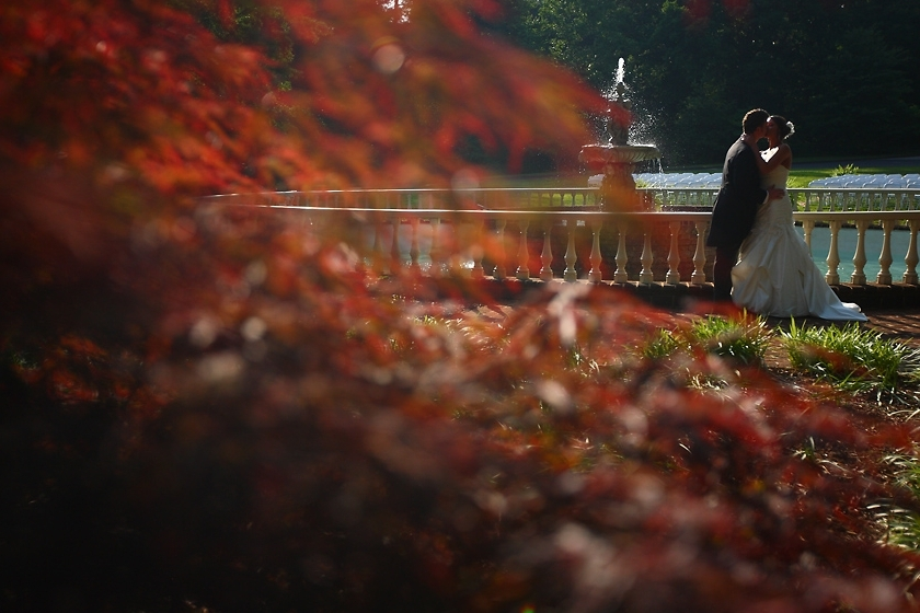Fountain Couple | Photo provided by  Blue Bend Photography