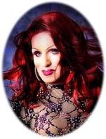 Empress XXVII   Teran Blake  The Multi-Jeweled Showgirl Goddess of Fire and Ice, World Pride Empress