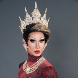 Her Most Imperial and Sovereign Majesty The Guardian of the Elephant Empress' Pearl, Lady of the Lake, Triple X Empress Empress 30 of The Imperial Court of Toronto  Nikki Chin
