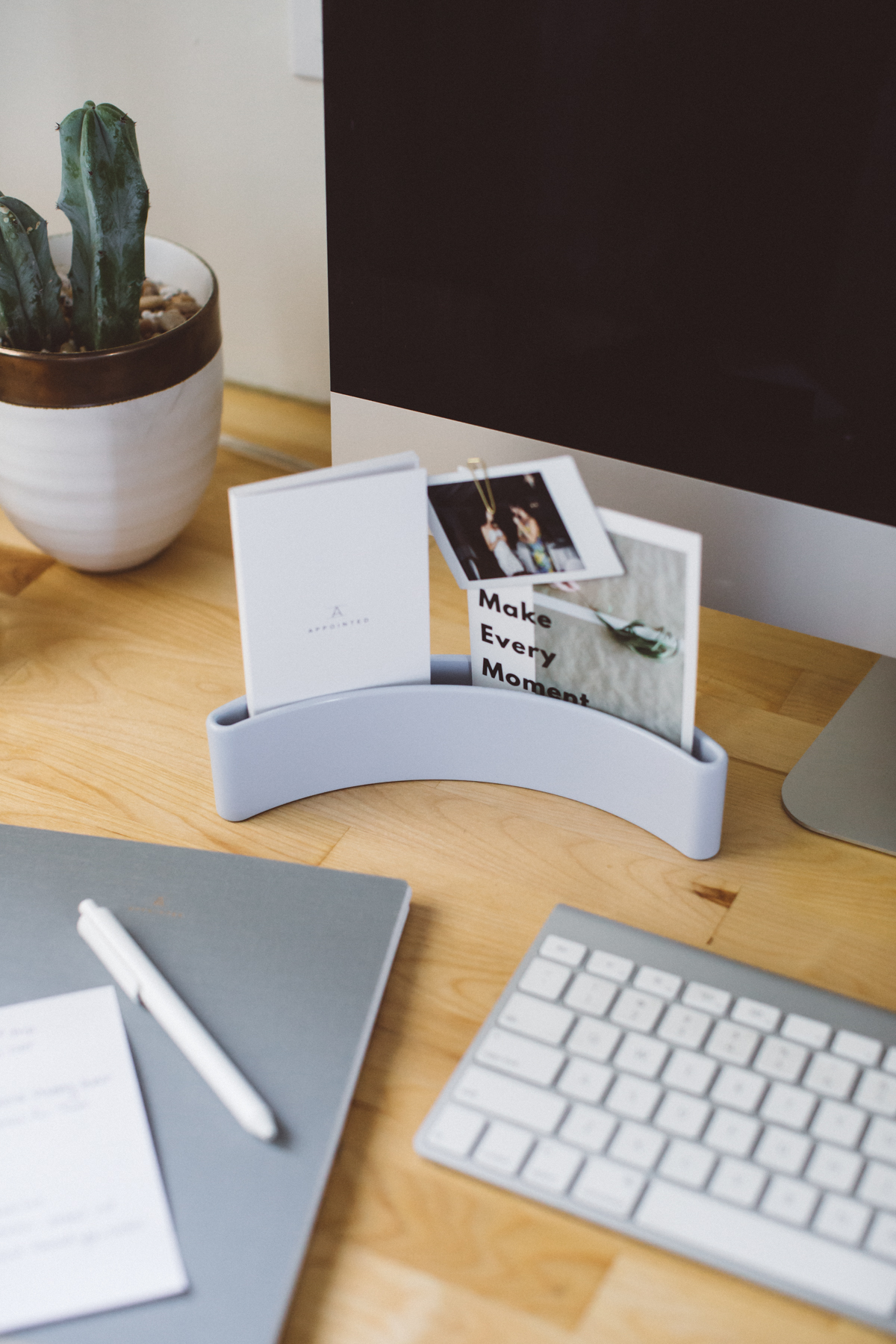 For working - Make your desk a place to inspire your work
