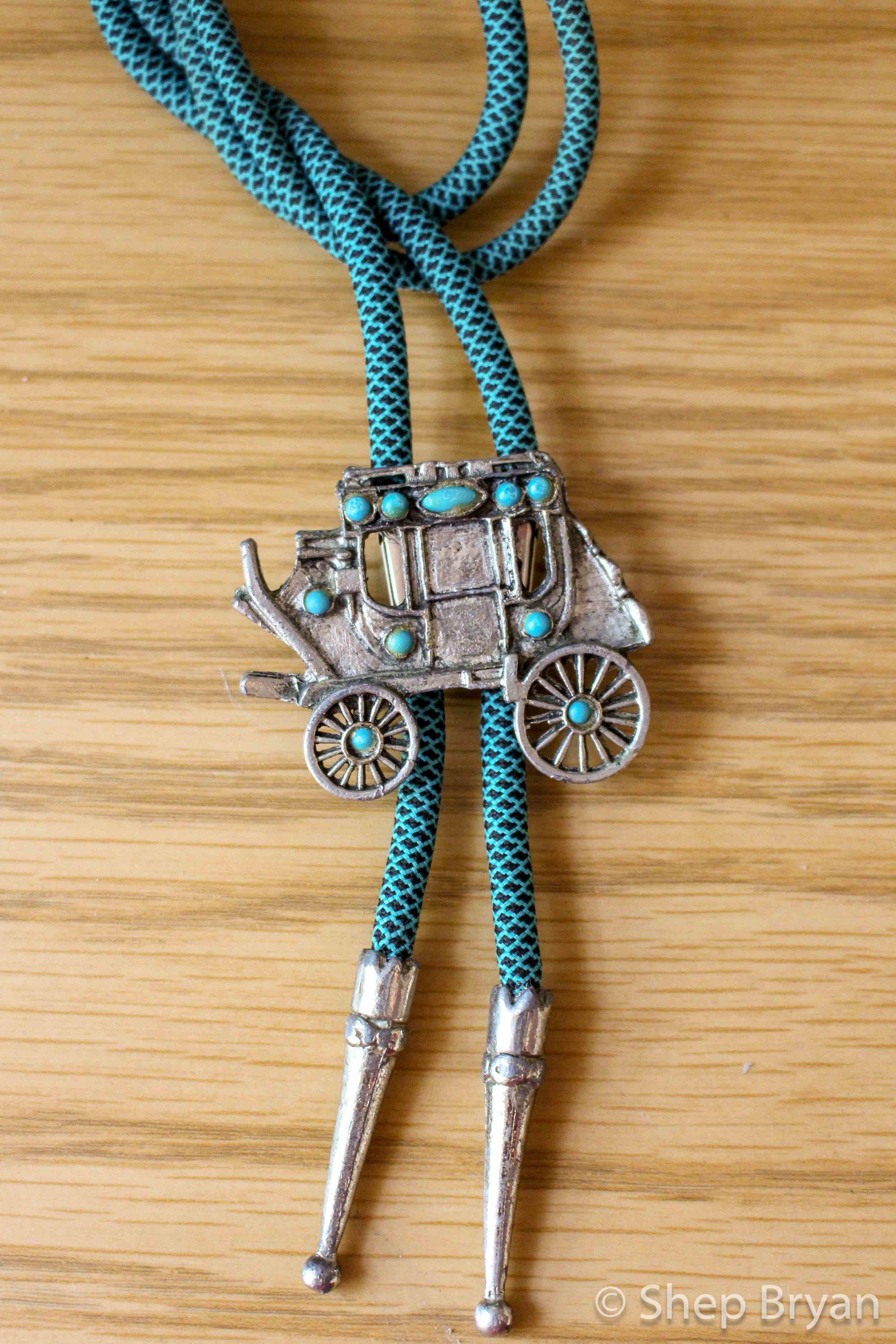 vintage bolo tie repair - final photo.jpg