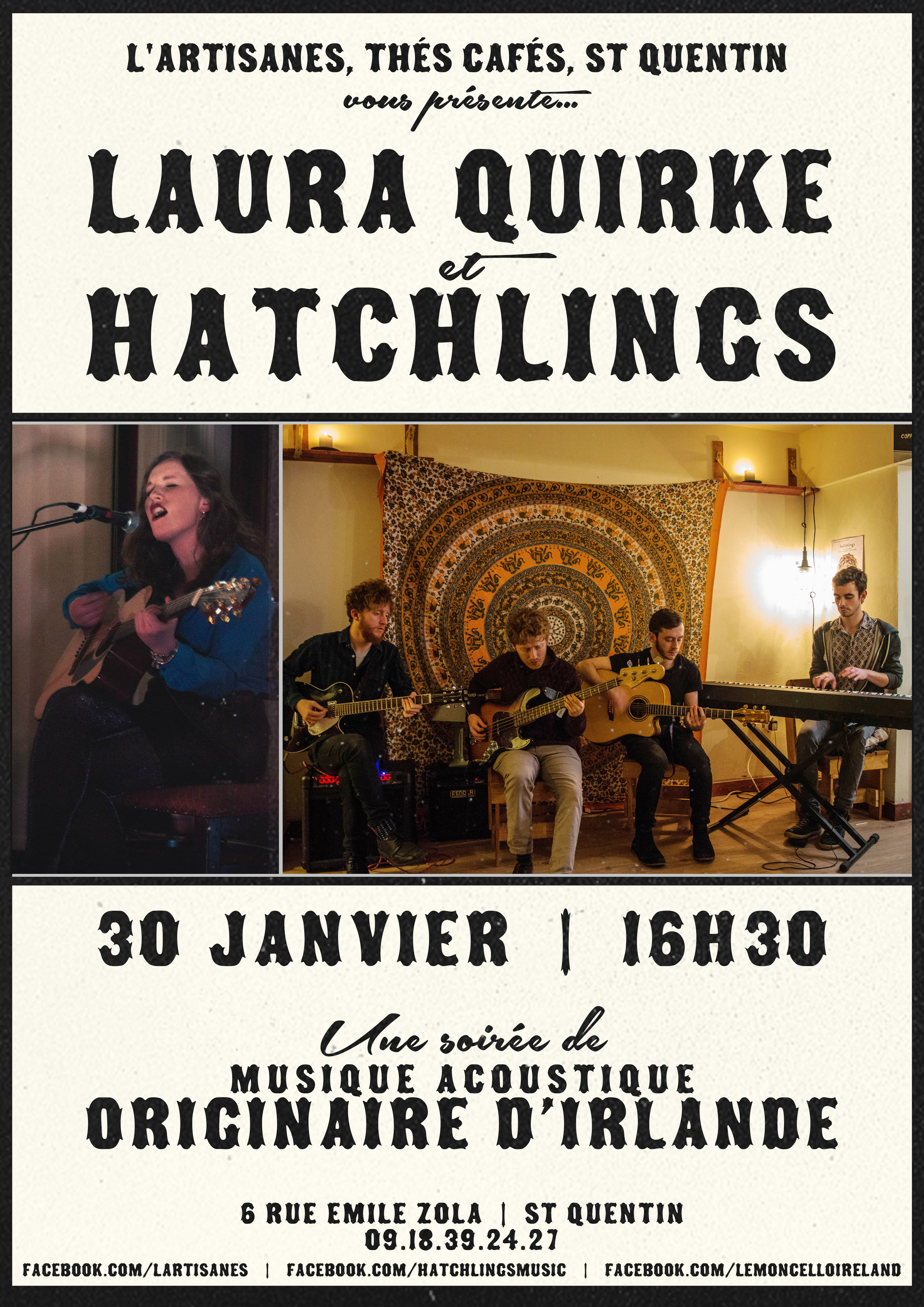 Laura Quirke et Hatchlings French Poster