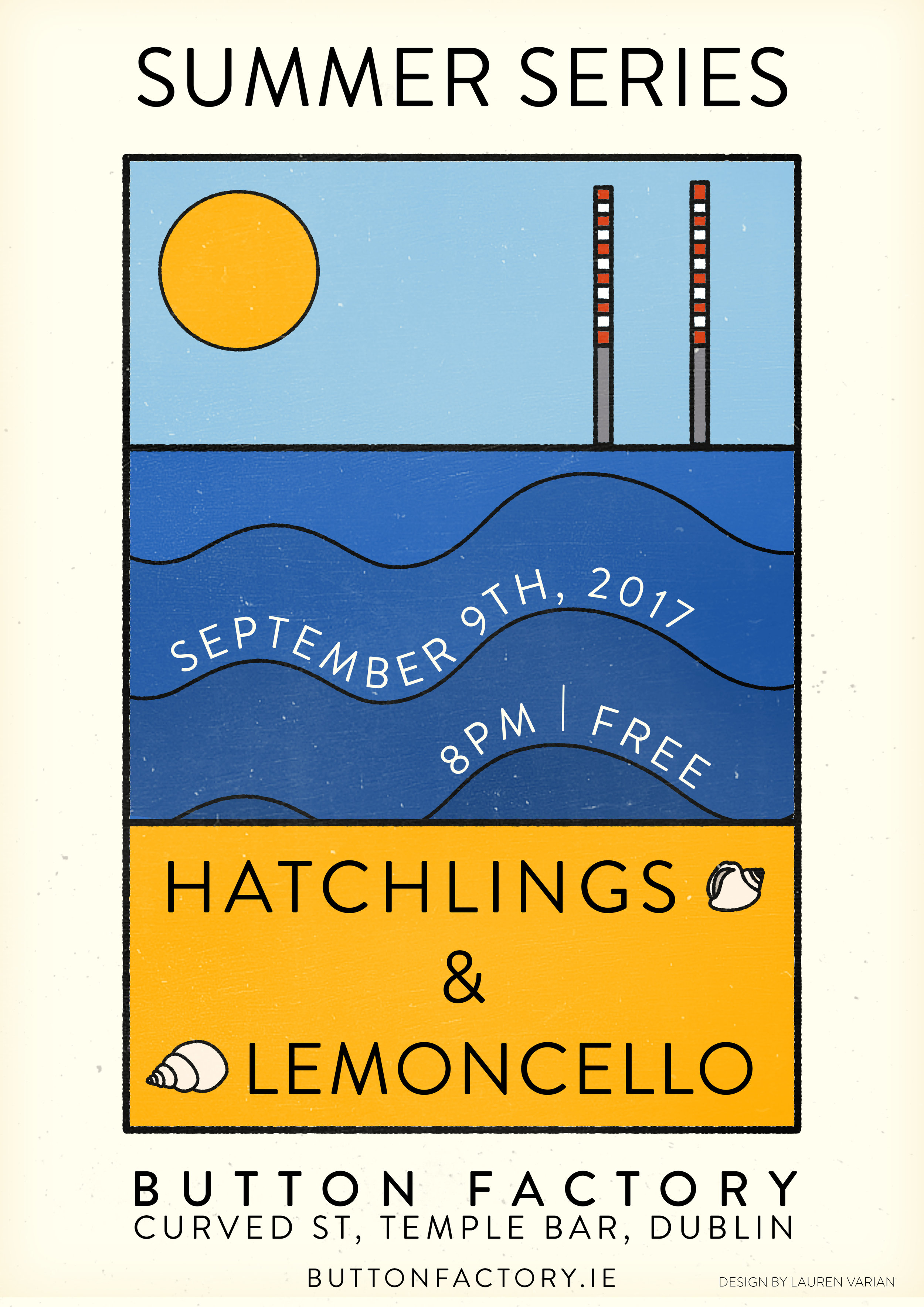 Summer Series Poster Design