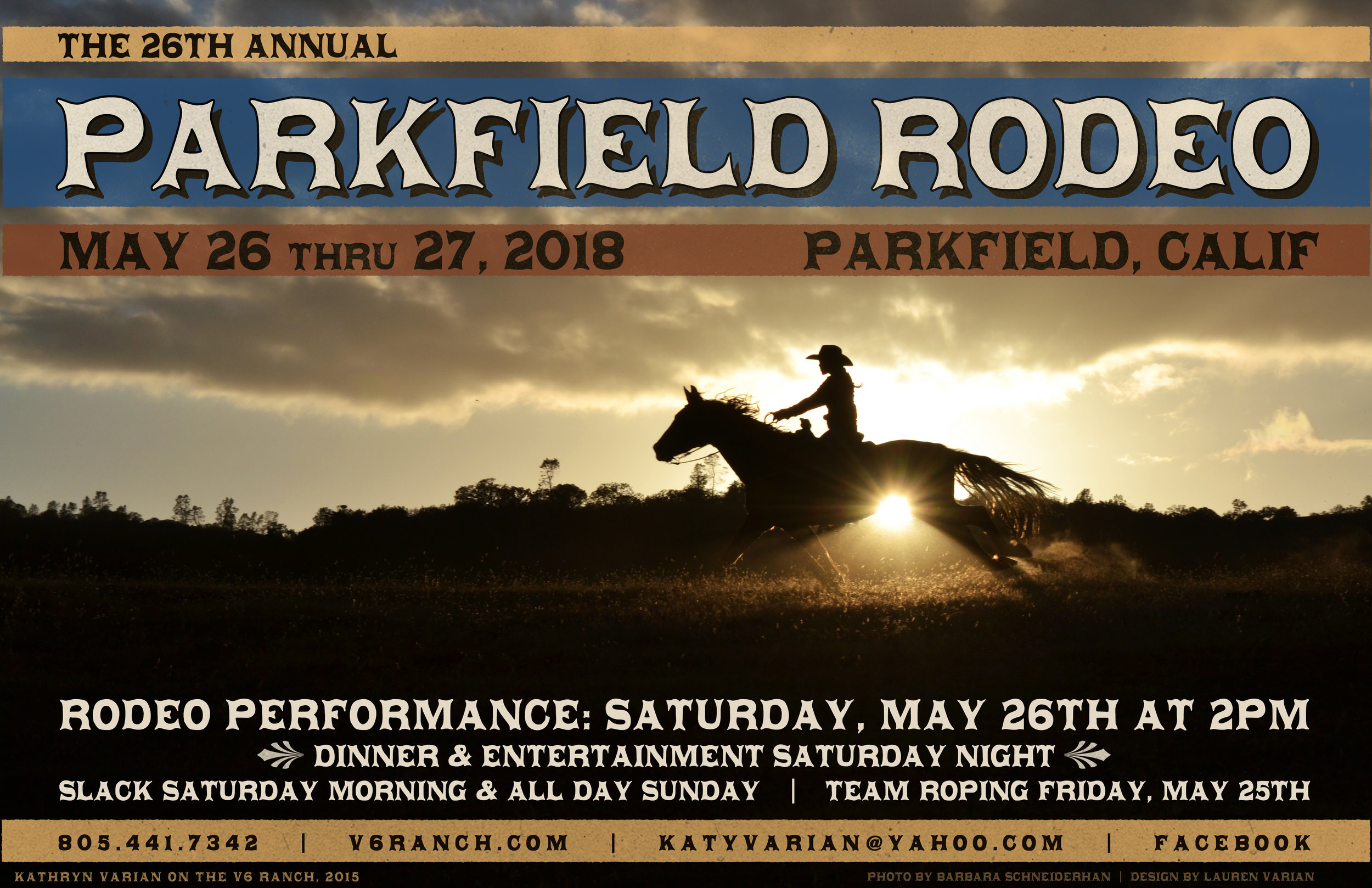 2018 Rodeo Poster