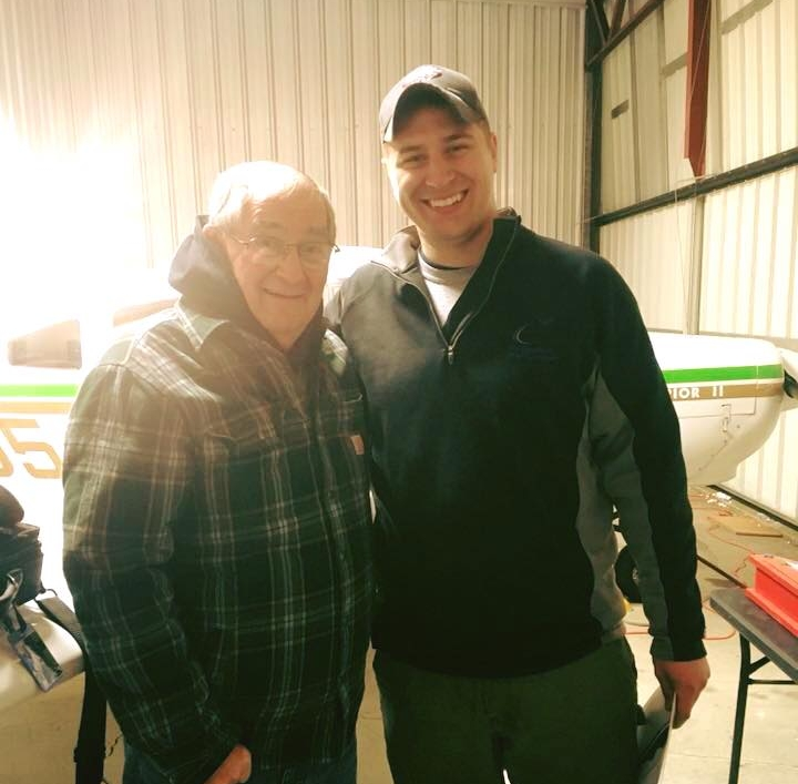 Summer 2017 - Alec and his family had the opportunity to visit Kingdom Air Corps in Alaska to get a visual of what the Lord can do with a thriving aviation ministry. Immediately upon their return, they were offered a hangar at the Limington Airport. The Lord has truly guided their steps along the way.
