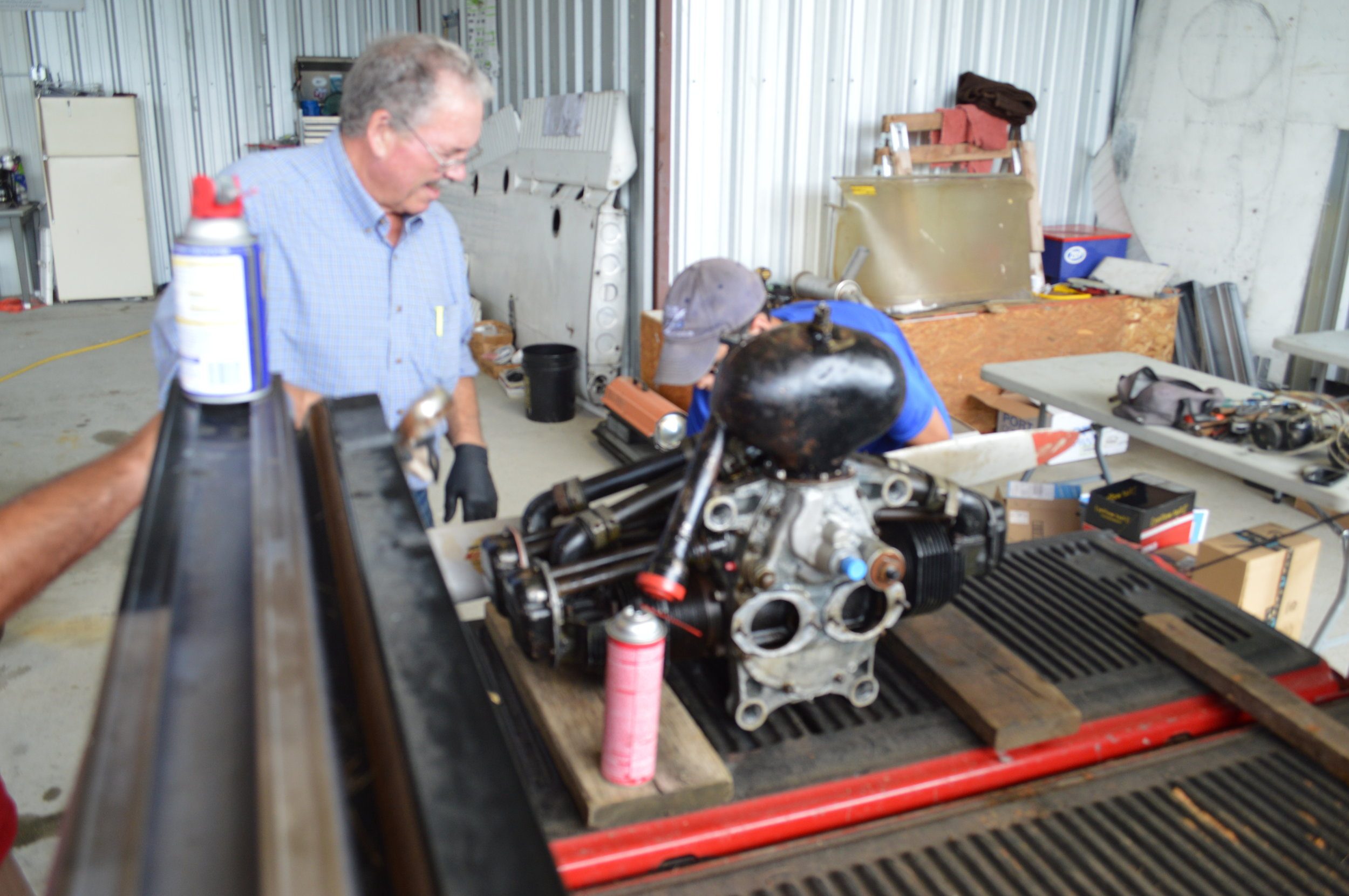 Dan Gray   Volunteer A&P/IA Mechanic