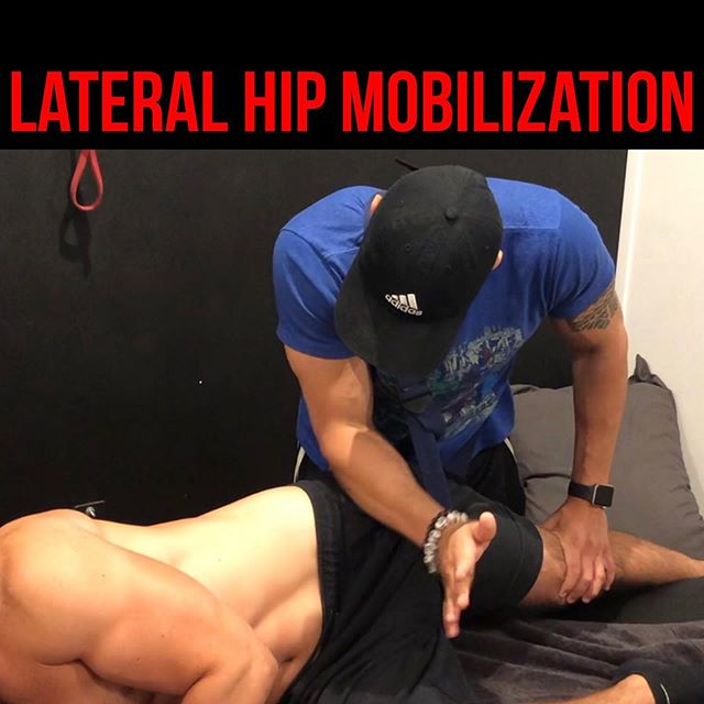 Lateral (Outer) Hip Pain❗️ • • • Today I show you guys a release of a muscle that is short, lacks mobility/flexibility in almost EVERY client that presents with complaint of lower back, hip pain. The TFL muscle will cause stiffness felt through the ITBand, down to outer knee and up to the side of lower back. Many times, this muscle becomes overactive in clients who sit a majority of the day, I'm talking to all my DESK WORKERS out there! • • • For any soft tissue mobilization, I like to always add some type of joint mobilization as well. This is extremely important to consider. If someone has months, even years of a muscle that is short, tight, stiff...you better believe the joint associated with that muscle has also developed some stiffness and immobility. Why not free up both blocks to allow for LONG-TERM relief❗️ • • • Video 1: Set up and Performance of STM of TFL muscle Video 2: Performance of STM of TFL using contract-relax technique  Video 3: Performance of Lateral glide of Hip Joint using contract-relax technique  Video 4: Neuromuscular Re-Education after both techniques  Video 5 & 6: Pre-test and Post-test using Adduction drop test
