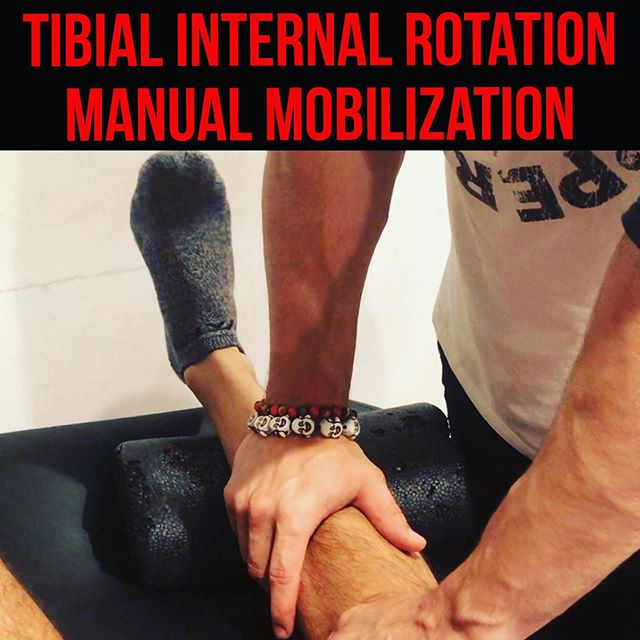 TIBIAL INTERNAL ROTATION MOBILIZATION❗️ Subtitle: The missing link. • • • This one is a long one folks. Dedicated to Sir Elton John @eltonjohn who decided to never listen to the consistency of the world, and instead decided to be an outlier forever. Enjoy me on the floor. Cheers everyone! • • • Video 1: Explanation of Tibial Internal Rotation Mobilization  Video 2: Pre-Test of Knee-On-Axis with mini-squat Video 3: Set-up of Tibial Internal Rotation Mobilization  Video 4: Performance of Tibial Internal Rotation Mobilization Video 5: Performance of Tibial Separation of Intersseous Membrane  Video 6: Performance of Distal Tib-Fib posterior glide  Video 7: Set-up of Posterior glide of Medial Malleolus Video 8: Performance of Posterior glide of Medial Malleolus Video 9: Post-Test of Knee-On-Axis with mini-squat