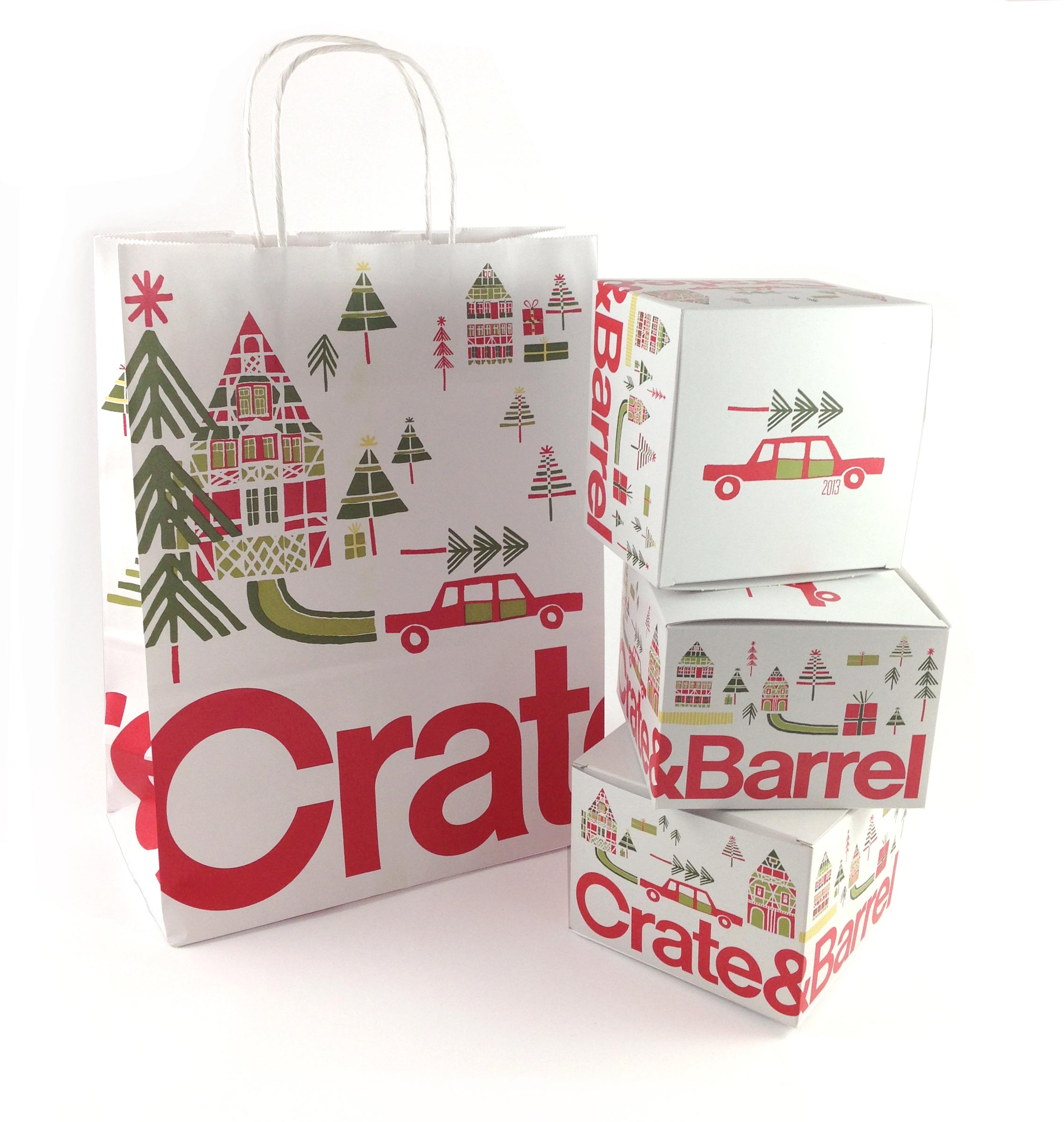 Christmas Crate And Barrel.Crate And Barrel The Treelot Julia Rothman