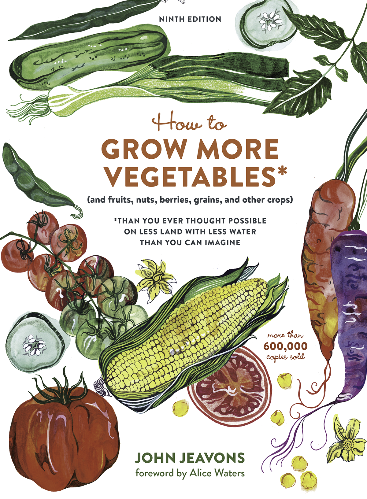 HTGMV - How To Grow More Vegetables is the worlds leading resource on Biointensive, sustainable, high-yield organic gardening.This book contains all you need to grow all of your own food, using The GROW BIOINTENSIVE Method of mini-farming.It also contains the