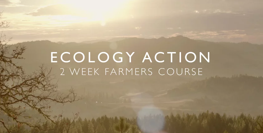 Farmer Course - Ecology Action has produced a 10 part video series available for purchase on Vimeo.  Over 6 hours of lectures with special guests, a great learning tool for those who want to learn more in depth about GROW BIOINTENSIVE and sustainable agriculture.