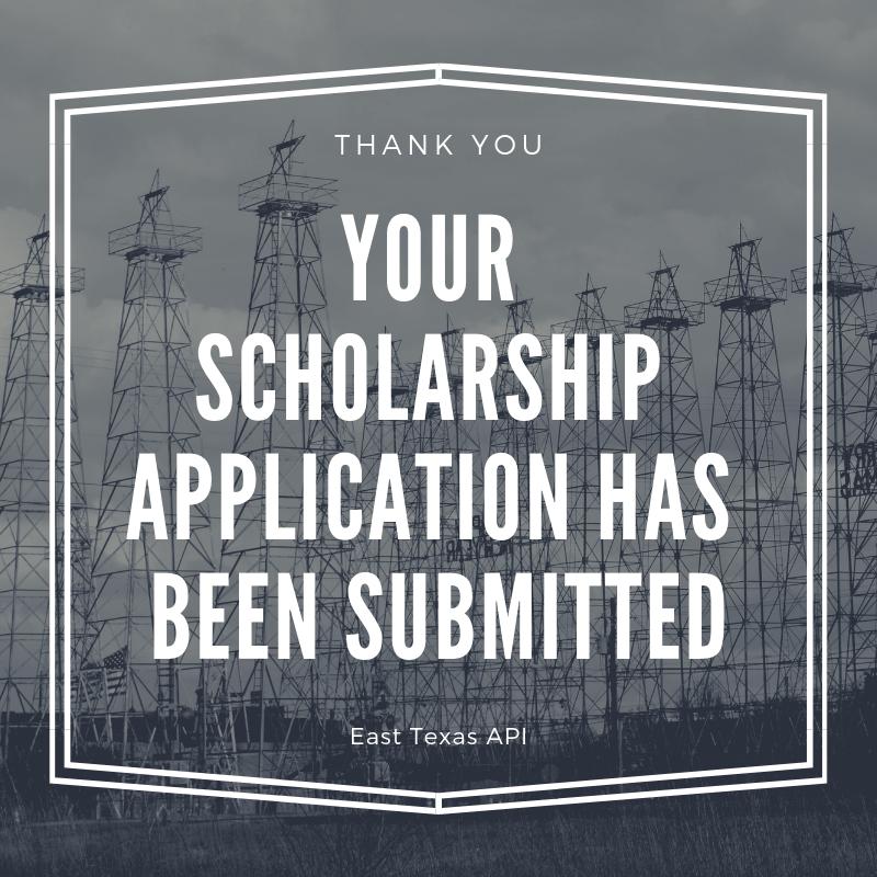 Thank you Scholarship Application