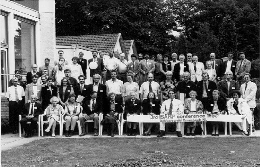 Participants ISARP 1996 in Nijmegen