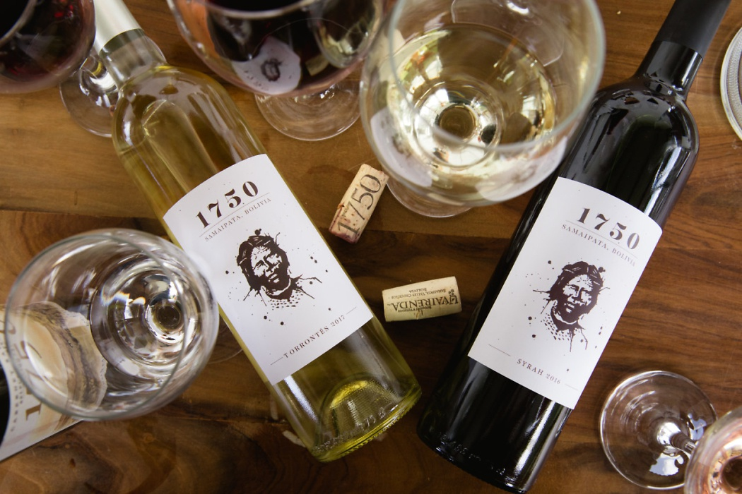 The labels for 1750 wines from Bodega Uvairenda feature an artist's rendition of a Guaraní woman, known for their strength and resiliance. These people lived here long before the Spanish arrived. The winemakers want their wines to reflect the terroir and character of the place, so it is only natural for them to want to share the history of the region as well. Photo: Alexandra Whitney. @alexandrawhitney