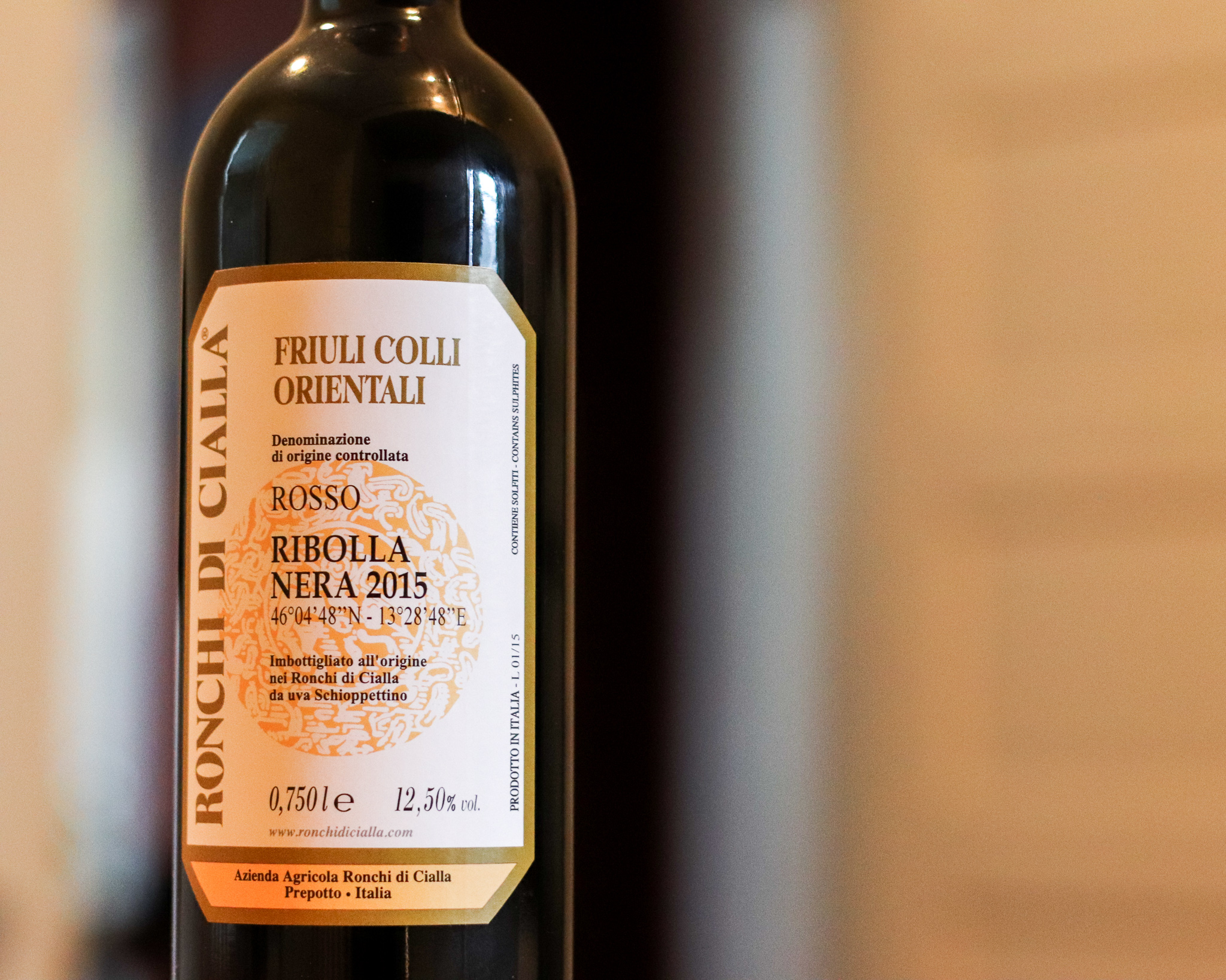 Ribolla Nera, or Schioppettino, was rescued by winemaker Paolo Rapuzzi and is an elegant, expressive, and unique representation of small production Italian wine. This smells so much like peppercorn it is like cutting into a steak au poivre.