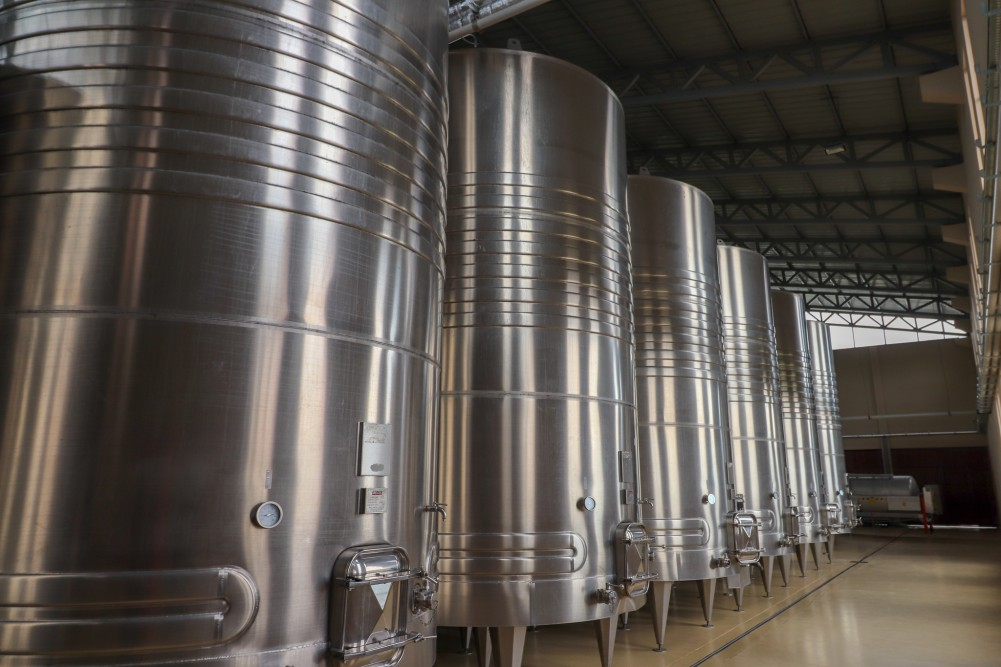 Modern equipment and facilities, like these from Bodegas Kuhlmann in Tarija, are helping to increase wine quality in Bolivia