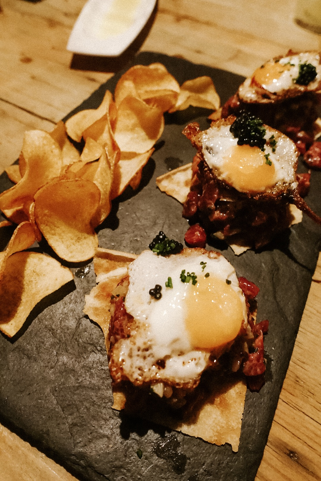 Copy of Egg and Steak Tar Tar (*Michelin Star)