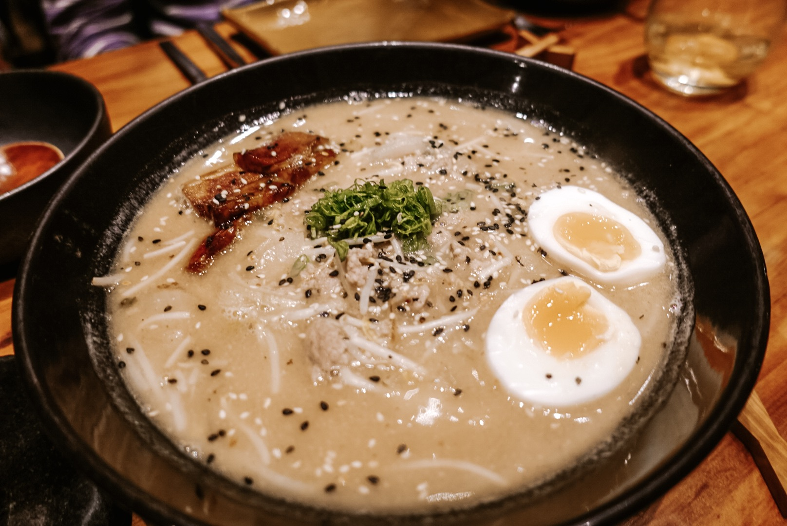 Ramen (with miso base)