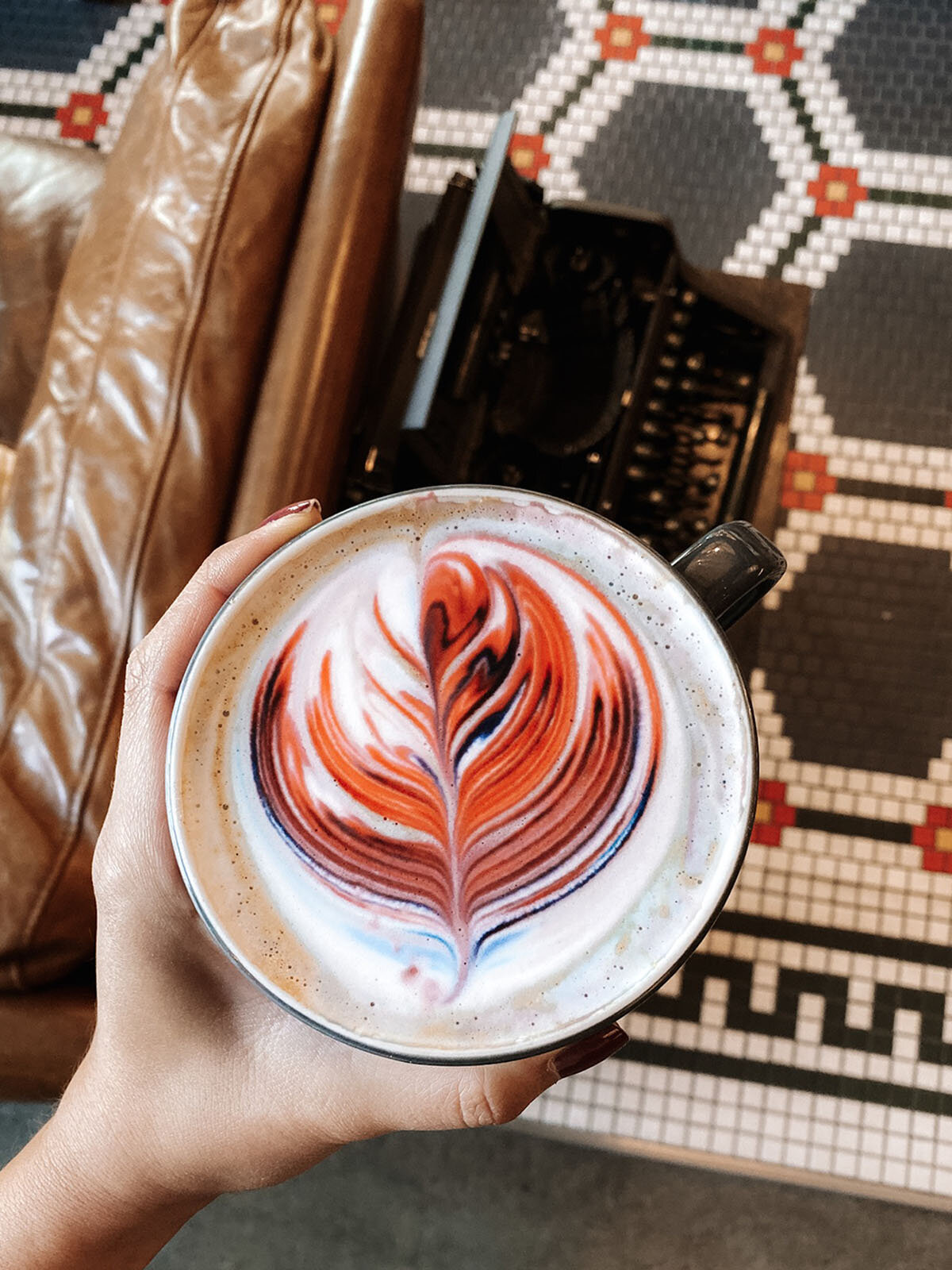 Aesthetic Coffee in Silicon Valley_Voyager Coffee_latte art.jpg