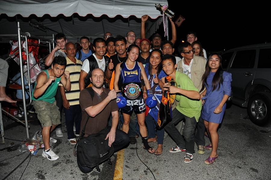 WPMF title belt, Thailand 2011