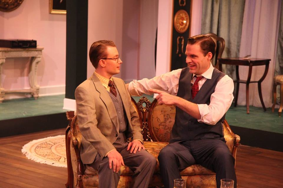 Featuring Greg Matthew Anderson as Paul Verrall (left) and Sean M. Sullivan as Harry Brock (right)