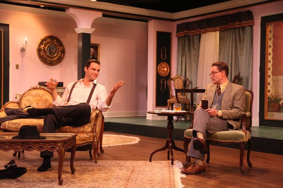 Featuring Sean M. Sullivan as Harry Brock (left) and Greg Matthew Anderson as Paul Verrall (right)