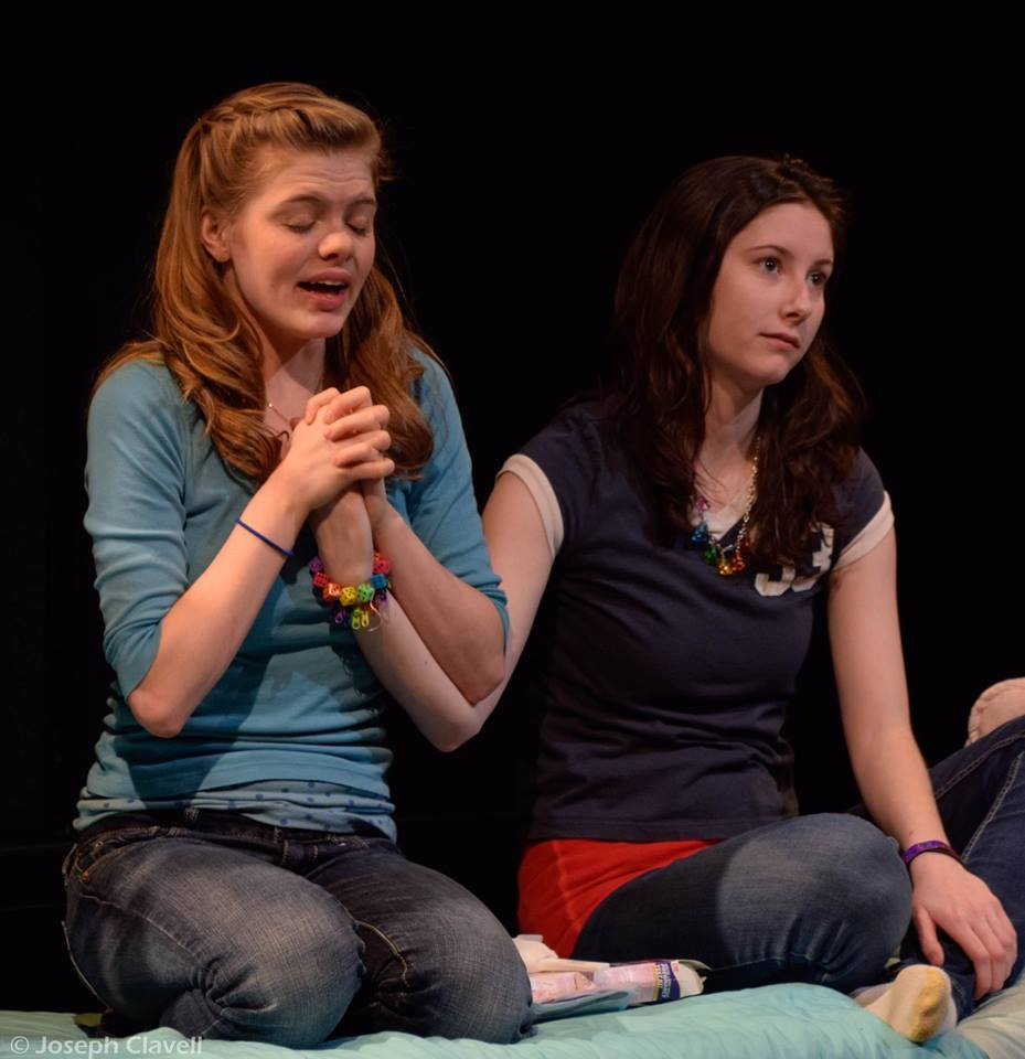 Featuring Raven Whitley as Mykelti (left) and Gail Tierney as Clara (right)