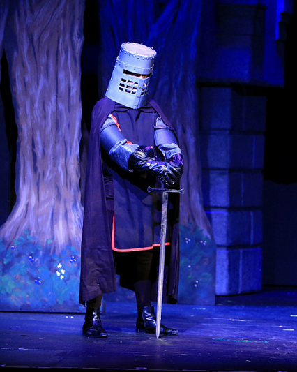 Featuring Charlie Reese as The Black Knight