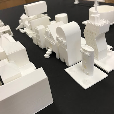 Fifth Grade Architecture with 3D Printing