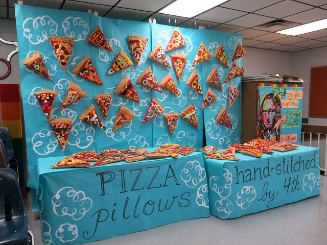 Pizza Pillows, Fourth Grade