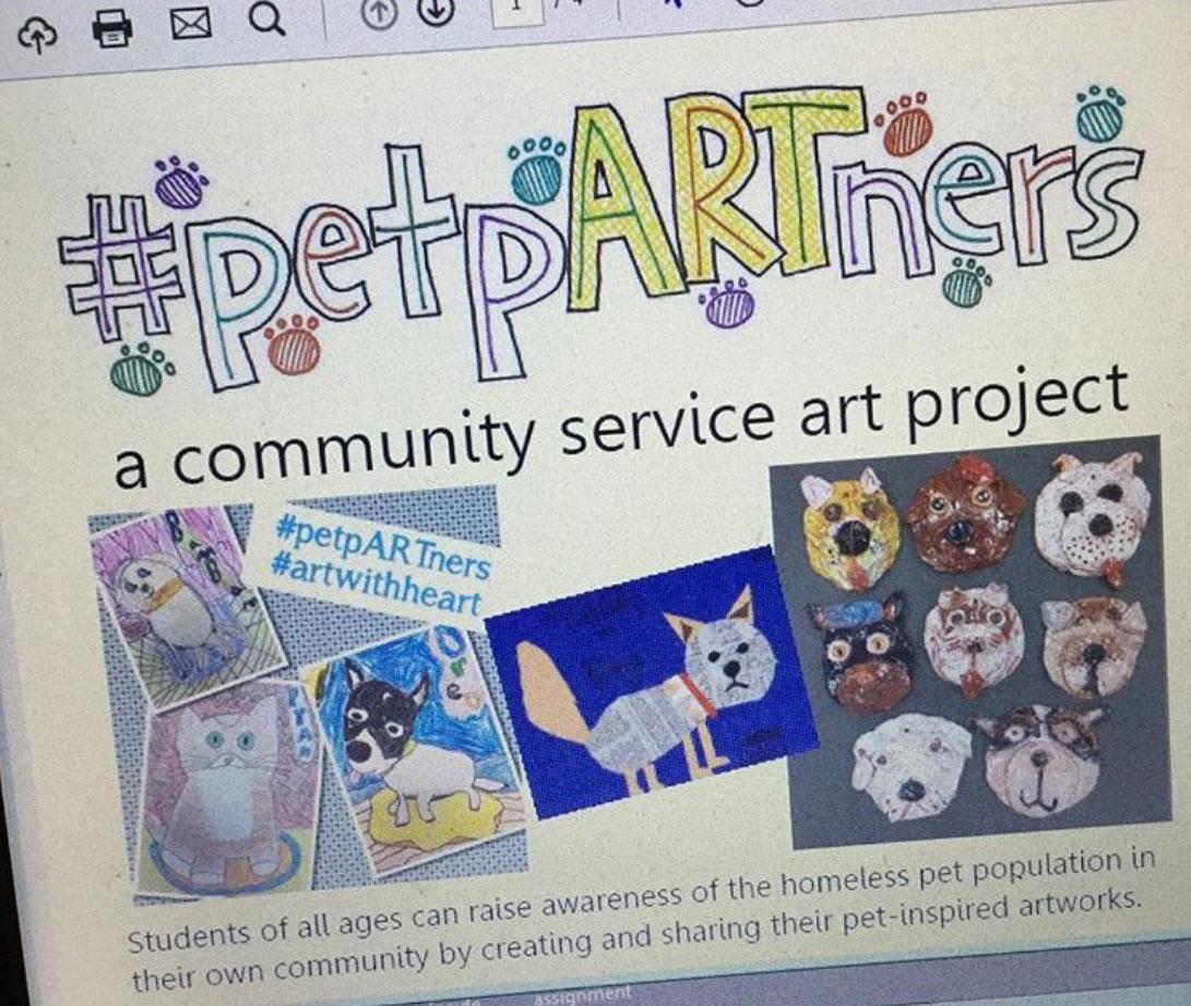 #petpARTners program