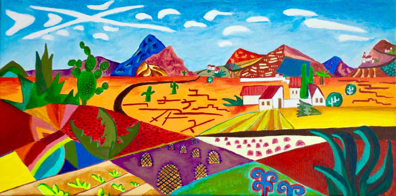 Road to Actopan, Hidalgo   ,  Emily Gould