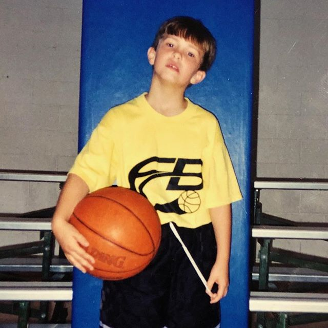 One day, I'll tell the world about how I gave up a career in basketball to become a songwriter… #tbt
